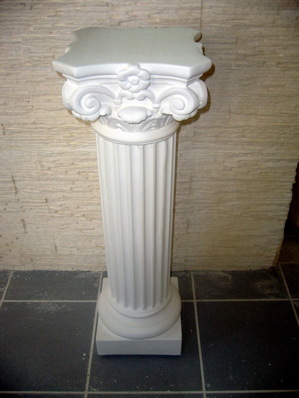 Colonne platre construction maison b ton arm for Colonne platre decor