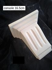 console applique staff plâtre déco décoration moulage art ornement moulure architecture