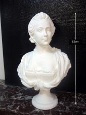 buste la Camargo statue sculpture staff plâtre déco moulage art