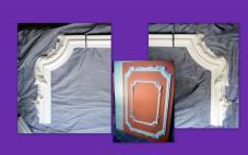 corniche moulure frise en staff platre arm de filasse. Black Bedroom Furniture Sets. Home Design Ideas