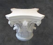 colonne table staff plâtre déco décoration moulage art ornement moulure architecture